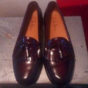Cole Haan Bib & Tassel Shoes sz 10 D